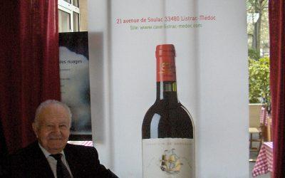 Grand Listrac au 7ème vin à Paris