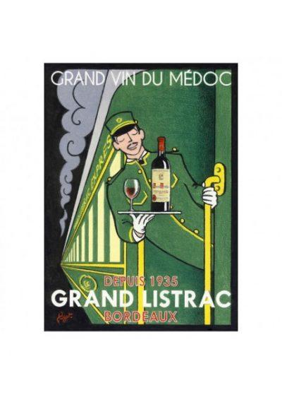 "Affiche ""Grand Listrac Express"""