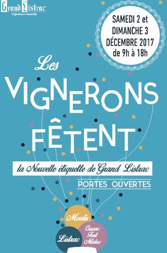 Invitation Fete des vignerons de Listrac 2017