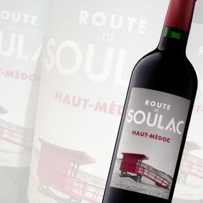 Route de Soulac Haut merlot